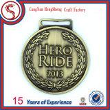 Подгонянное новое медаль металла спорта конструкции