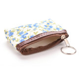 Floral Coin Bag Pouch 1PCS新しい花の小さい硬貨の財布の女性の女性ジッパーの硬貨の札入れ