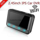 """Vídeo confidencial novo DVR de Digitlal do carro do traço de 2.45 """" IPS com a caixa negra do carro de WiFi FHD1080p, câmera do carro de Sony da lente 6g"""