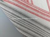 털실은 리넨 면에 의하여 혼합된 줄무늬 직물 Lz7391를 염색했다
