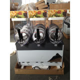 Handelstisch-Oberseite-Eis-Schlamm-Maschine mit dreifachen Becken