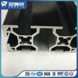 生産ラインフレームのための6063 T5黒い陽極酸化されたアルミニウムプロフィール