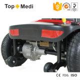 Vespa Handicapped importada 105 de la movilidad del cargador de Taiwán con la cesta electromágnetica del freno y del almacenaje