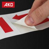 Continuar las etiquetas adhesivas fuertes de las escrituras de la etiqueta de las etiquetas engomadas