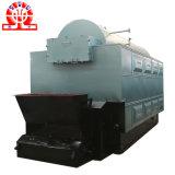 Chaudière de chauffage d'eau chaude d'interpréteur de commandes interactif de paume de combustible solide