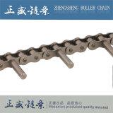 Chaîne de convoyeur industrielle d'acier de brin simple de pièce d'assemblage de chaîne en gros de rouleau