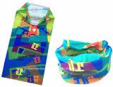 중국 공장 생성 주문 폴리에스테 위장 회색 다기능 스키 목 관 스카프