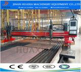 CNC van het Type van Brug van Huaxia van Jinan Plasma het Om metaal te snijden van Machines en de Scherpe Machine van de Vlam