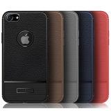 iPhone를 위한 호화스러운 여주 가죽 패턴 TPU 전화 상자 더하기 8 8 플러스 6 7 7