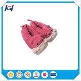 Deslizadores cor-de-rosa do animal enchido do luxuoso da novidade