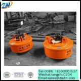 Gerbeur électromagnétique d'électromagnétisme du diamètre 1100mm pour le rebut en acier de MW5-110L/1