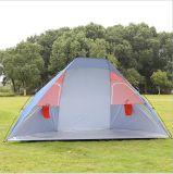 Le tende di campeggio esterne all'ingrosso della molla, possono essere personalizzate hanno marcato a caldo