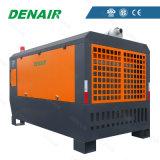 10 compresseur d'air rotatoire monté par dérapage diesel de vis de la HP 150HP de la HP 30