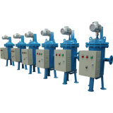 A remoção de sólidos com escova Autolimpante Sistema de purificação da água do filtro