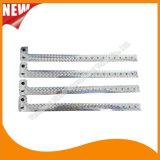 Faixas holográficas do bracelete dos Wristbands da identificação do costume do entretenimento (E8070J-25)