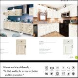 De klassieke Keukenkast van pvc van de Stijl Witte (ZH524)