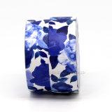 Forma redonda com material de papel caixa de cosméticos de embalagem