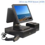 """Touchscreen 15 van de privacy """" allen in Één POS Kasregister met Venster of Androïde Systeem"""