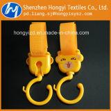 Gancho de leva colgante plástico durable del gancho de leva de la alta calidad y del cochecito de bebé del bucle