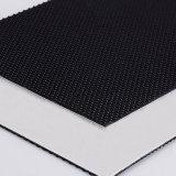 En PVC noir de la courroie du convoyeur de l'exécution de la courroie de tapis de course utilisés dans la salle de gym