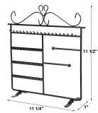 Support de bureau Bijoux en Métal rack statif