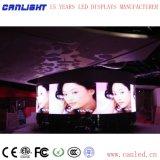 Visualización de LED fijada P2.5 de interior para el salón de baile hecho por Canlight