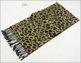 Зимы чывства кашемира женщин людей шарф печатание диаманта Unisex реверзибельной теплый проверенный толщиной связанный сплетенный (SP815)