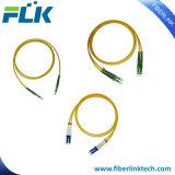 Cordons de raccordement à fibre optique monomode