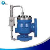 Aço inoxidável alívio de pressão operada por piloto da válvula de segurança