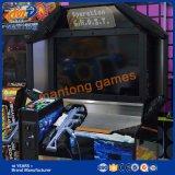Máquina de juego de video de lujo Simulador de disparo para estacionar