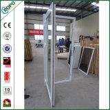 De style européen vinyle PVC double vitrage Portes et fenêtres à battants