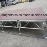 고품질 알루미늄 양탄자 상부 제거 단계 플래트홈