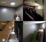 6 LED自動PIRの動き小さい小型センサーライト、台所ライト、磁石が付いているDectorライト