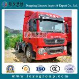 판매를 위한 Sinotruk HOWO T5g 6*4 380HP 트랙터 트럭