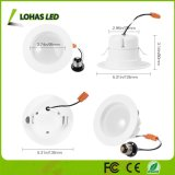 4 pulgadas de 9W E26 blanco sintonizable 2000K-6500K Downlight WiFi inteligente