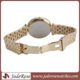 최신 판매 방수 스테인리스 석영 손목 시계, 여자 아날로그 시계