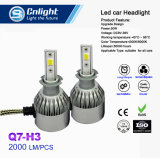 Cnlight Q7-H3 COB barato potente 4300K/6000K Farol do Carro de LED