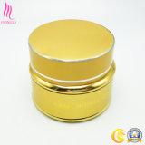 Золотой косметический стеклянный контейнер для крем для лица