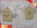 Крафт-бумаги или повесьте предупреждающие знаки по пошиву одежды теги индексов с лентой ленты
