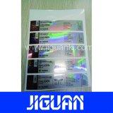 高品質のカスタム防水10mlホログラムのステロイドのガラスびんのラベル