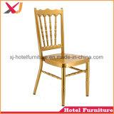 Restaurante de aluminio silla Tiffany para bodas banquetes/Hotel/