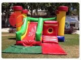 Aluguer comercial Bouncer insufláveis Jumping Castle combinadas com deslize (T3-041)