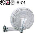 Tubo flessibile Wearproof ad alta pressione dell'acqua del fuoco del tessuto della tela di canapa