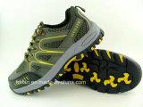 L'alpinisme chaussure de sécurité en cuir en daim occasionnel/toile chaussures de travail