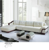 L形のホテルのロビーの家具の革ソファー(C25)