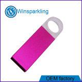 La llave de cristal de la fábrica de memoria Flash USB 2.0 3.0 Disk