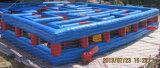 Curso de obstáculo inflável do labirinto dos jogos infláveis para a venda