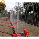 Norma australiana 2400*2100mm em aço galvanizado Painel cerca temporária