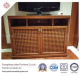 Außerordentlicher Hotel-Rattan Fernsehapparat-Standplatz für Wohnzimmer (8632-1)