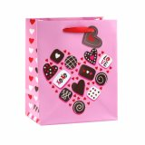 Zakken van het Document van de Gift van het Huwelijk van de Schoonheidsmiddelen van het Hart van de Dag van de valentijnskaart de Romantische